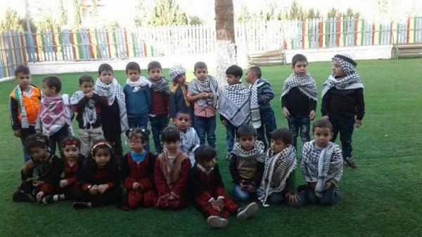 روضة دار الأيتام الإسلامية تحتفل بيوم التراث الفلسطيني