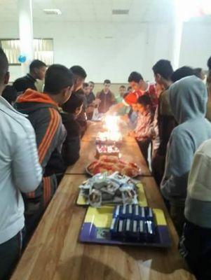 عيد ميلاد جماعي