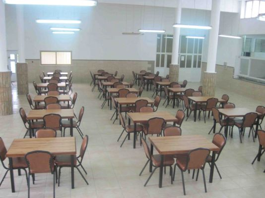 Repaired Dinning Hall