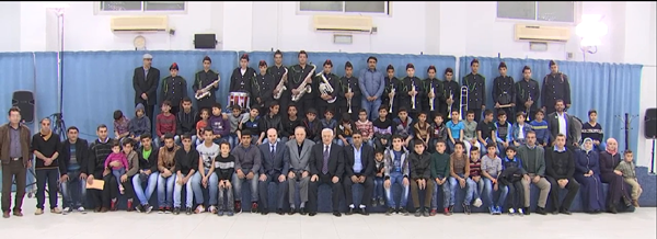 Orphans Hosted By President Mahmoud Abbas