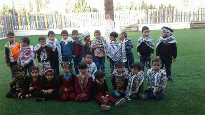 Islamic orphanage Kindergarten celebrates Palestinian Heritage Day
